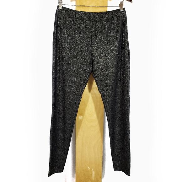 5dc7ad843e9176 MeMoi Pants | Ml Gold Metallic Glam Leggings Nwt | Poshmark